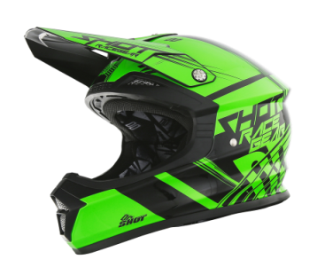 SHOT Casque KID FURIOUS NEON VERT